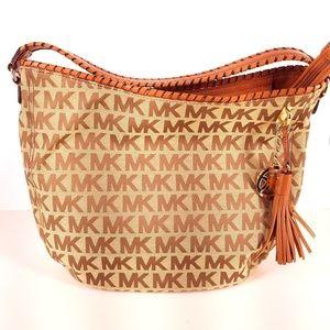 Michael Kors | Monogram Logo Shoulder Bag